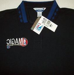 NEW! Vintage Orlando Magic Basketball Polo Shirt NBA by CHAM