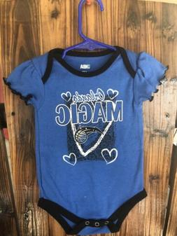 NWOT Baby Girls NBA Orlando Magic Bodysuit 12 Mos
