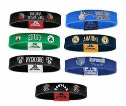 Officially Licensed NBA Wristband Bracelets - Various Teams