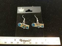 One Pair of NEW Orlando Magic Dangling Earrings - Aminco Bra