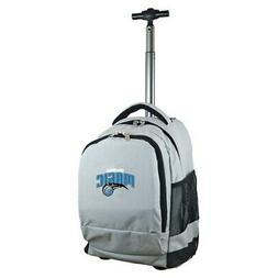 Orlando Magic 19'' Premium Wheeled Backpack - Gray