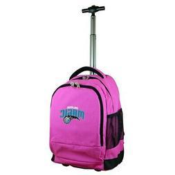 Orlando Magic 19'' Premium Wheeled Backpack - Pink