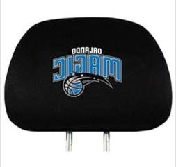 Orlando Magic  2 Pack Auto Car Truck Headrest Covers