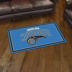 Orlando Magic 3' X 5' Decorative Ultra Plush Carpet Area Rug