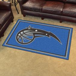 Orlando Magic 4' X 6' Decorative Ultra Plush Carpet Area Rug