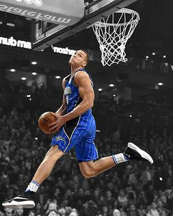Orlando Magic AARON GORDON Glossy 8x10 Photo Spotlight Baske