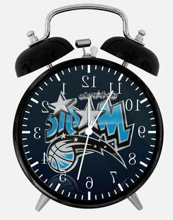 "Orlando Magic Alarm Desk Clock 3.75"" Home or Office Decor E1"