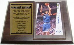 Orlando Magic Anfernee Hardaway Basketball Card Plaque