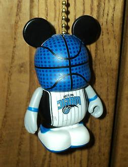 ORLANDO MAGIC BASKET BALL LIGHT/FAN PULL WITH CHAIN AND CONN