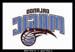 ORLANDO MAGIC BASKETBALL NBA DECAL STICKER TEAM LOGO~BUY 1 G