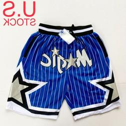 Orlando Magic Basketball Shorts Vintage 92-93 Mens Blue Size