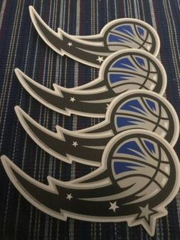 Orlando Magic Basketball Team Car Magnet 6x3 Lot Of 4