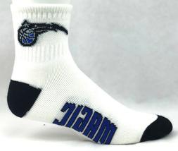 Orlando Magic Basketball White Deuce Quarter Socks