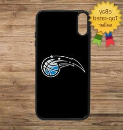 Orlando Magic Black Phone Case for iPhone Galaxy 5 6 7 8 9 X
