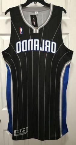ADIDAS Orlando Magic Black Swingman Twill Basketball Jersey
