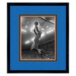 Orlando Magic Black Wood Picture Frame - Made to Display 5""