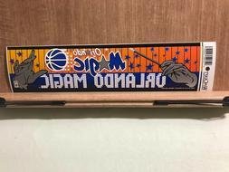 Orlando Magic Bumper Sticker 12 inches