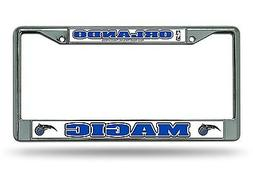 Orlando Magic Chrome Frame Metal License Plate Tag Cover NBA