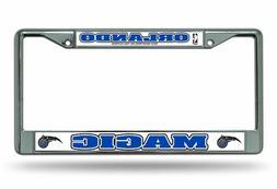 ORLANDO MAGIC CHROME Metal LASER FRAME Chrome License Plate
