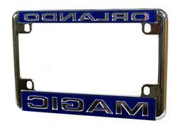 Orlando Magic Chrome Motorcycle, RV or Trailer License Plate