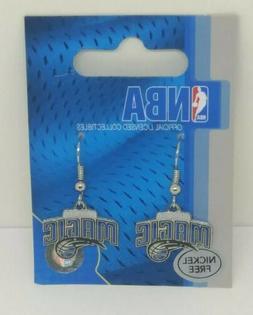 ORLANDO MAGIC Earrings Dangle Hook NBA Official Licensed Col