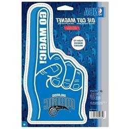 "Orlando Magic WinCraft Foam Hand 6"" x 9"" Car Magnet"