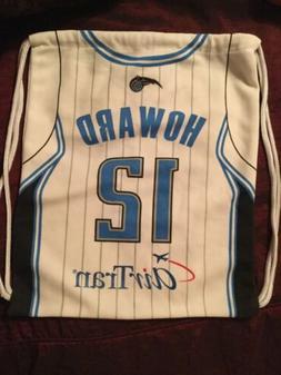 Orlando Magic Howard #12 Drawstring Bag AirTran Basketball