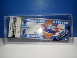 Orlando Magic Inaugural Game Ticket November 4, 1989 - New J