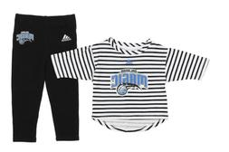 Orlando Magic Infant Set B-Ball Sweetheart Pants Set Black/W