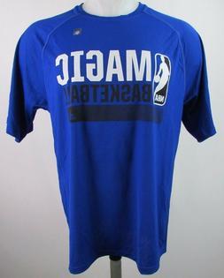 Orlando Magic NBA Adidas Men's Icon Climalite Graphic T-Shir
