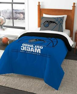 Orlando Magic NBA Basketball Twin Comforter & Pillow Sham 2-
