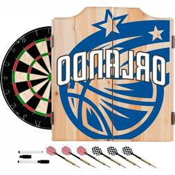 Orlando Magic NBA Dartboard Cabinet Set include 6 Steel Tip