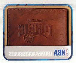 Orlando Magic NBA Embossed Leather Billfold Wallet NEW in Gi