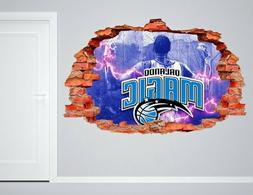 Orlando Magic NBA Wall Decal Living Room Or Room 3D Wall Pap