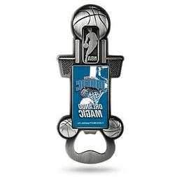 Orlando Magic Party Starter Magnetic Pewter Metal Bottle Ope