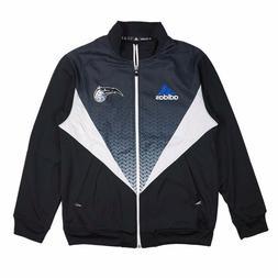 Orlando Magic Adidas Resonate Full Zip Black Light Weight Te
