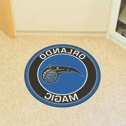 orlando magic round floor mat or rug