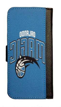 ORLANDO MAGIC SAMSUNG GALAXY & iPHONE CELL PHONE CASE LEATHE