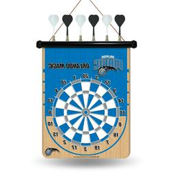 Orlando Magic Team Dart Board.Magnetic. 6 Darts. Board    #9