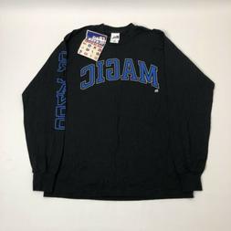 Orlando Magic Vintage 90s NBA Pro Player Long Sleeve Shirt M
