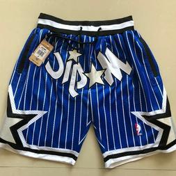 Orlando Magic Vintage Basketball Game Shorts NBA Men's NWT S