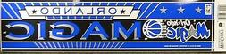 Orlando Magic Vintage Bumper Sticker Rare Free Shipping!!