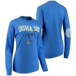 Orlando Magic Women's Elbow Patch Long Sleeve T-Shirt - Blue