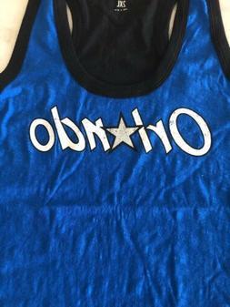 Orlando Magic Womens 2xl Xxl Jersey Tank Top Shirt Blue Nba
