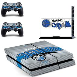 PS4 ORIGINAL - Orlando Magic - Console Skin Decal + 2 Contro