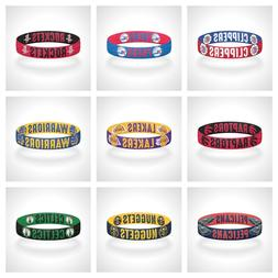 Reversible NBA Team Mascots Bracelet Stretch Bracelet NBA Wr