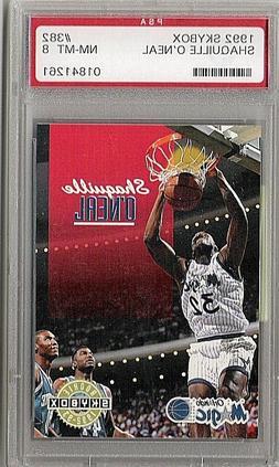 Shaquille O'Neal 1992 Skybox Orlando Magic graded 8 Basketba