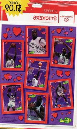 "Shaquille O'Neal ""Orlando Magic"" 1994 Hallmark Valentines Da"