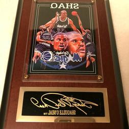 Shaquille O'Neal Rookie 5X7 Wood Plaque Orlando Magic SHAQ S
