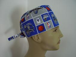 Surgical Tieback Scrub Hat/ Cap - NBA - ORLANDO MAGIC - One